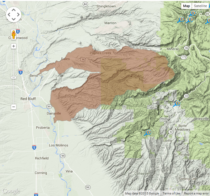 Tehama East Watershed